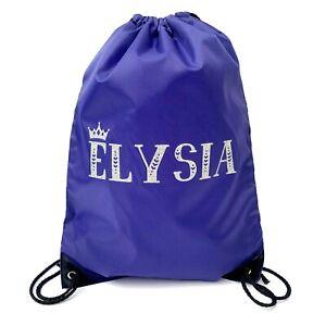 Personalised Pe bag,Personalised School Bag,Personalised drawstring bag
