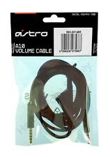 Astro Gaming A10 Volume Cable (2.0m) A10 Headset Inline Volume Control Cable NEW