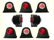 x 8 12v/24v rojo/blanco intermitente lateral dirección Luces