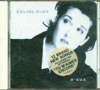 Celine Dion - D'Eux Con Sticker Cd Eccellente
