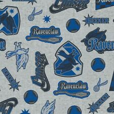 Harry Potter Ravenclaw House Pride Fabric - Cotton Fabric Material