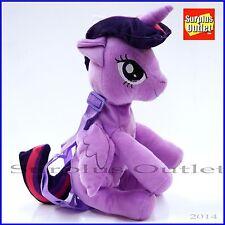 My Little Pony Twilight Sparkle Plush Doll Backpack Costume Bag Stuffed Toy