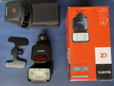 Sony HVL F43AM Flashgun Flash with HOT SHOE adaptor TF-335 for Sony Mi to Sony
