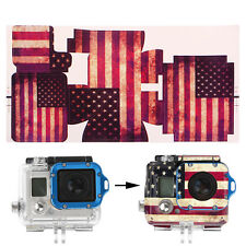 Camera Accessories American Flag Paster Cartoon Skin Sticker For GoPro Hero 3