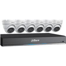 Dahua HD-CVI Bundle-1-8CH 4K DVR, 3TB + 6-2.8mm, 5MP IR eyeball cams -#C785E63