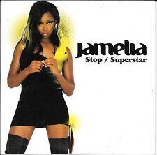 CD SINGLE 2 TITRES--JAMELIA--STOP / SUPERSTAR--2004