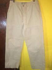 American Eagle Outfitters Men's Slim Fit Casual Cargo Pants 32 x 32 Beige Khaki