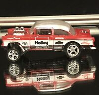 2019 Hot Wheels Custom 55 Holley Chevy Bel Air Gasser Loose With Real Riders