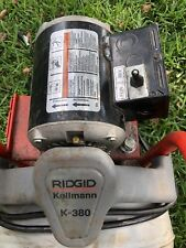 Ridgid K380 Drain Cleaning Machine Drum Sewer Snake Auger Pipe Drain Foot Switch