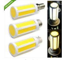 E27/E14/B22 LED 7 COB SMD Corn Bulb Spot Light Lamp Warm/Cool White 7W 110/220V