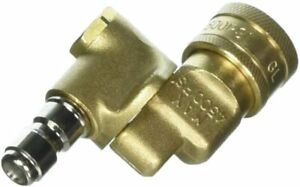 """Pressure Washer Power Fit Pivot Coupler 1/4"""" Quick Connect 4500 PSI PF31071B"""
