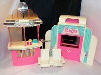 "RARE Vintage Mattel Barbie Movie Theatre / Theater w/ ""Magical"" Screen"