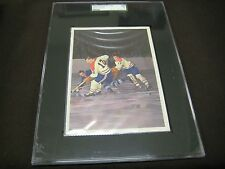 RARE 1963-64 TORONTO STAR STARS IN ACTION SGC GRADED THE GREAT  DICKIE MOORE