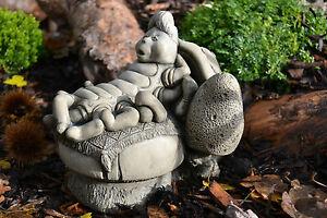 Alice's Adventures in Wonderland Stone Garden Ornament (The Caterpillar)