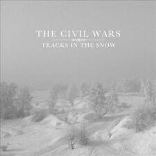 "THE CIVIL WARS""Tracks in the Snow"" EPRsd 2011 Limited WHITE 10"" VinylMINT"