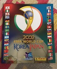 PANINI WC KOREA / JAPAN 2002 -EMPTY ALBUM *RARE* AMERICA'S EDITION