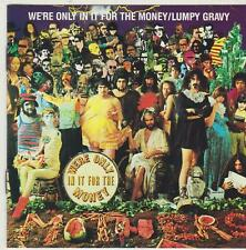 WE'RE ONLY IN IT FOR THE MONEY & LUMPY GRAVY BY FRANK ZAPPA CD MUSIC ALBUM SONGS