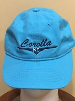 Blue COROLLA NC Baseball Cap Hat PreOwned