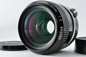 [Near MINT+] Nikon NIKKOR Non-AI 35mm f/2 MF Lens From JAPAN FREE-SHIPPING #68