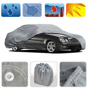 Full Car Cover Waterproof Protective Cover  Resistant Breathable Auto Protection