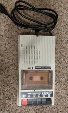 Vintage Califone International 3130Av Desktop Cassette Voice Tape Recorder Works