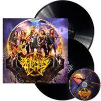 BURNING WITCHES - BURNING ALIVE LIMITED  DOUBLE VINYL + CD 2 VINYL LP+CD NEU