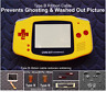 GBA Backlight-Backlit Adapt-AGS101-Mod Kit +Type B Cable-Yellow