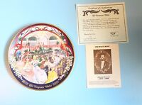 "VINTAGE COLLECTOR PLATE BOX COA ""THE EMPEROR WALTZ""  WALTZES OF JOHANN STRAUSS"