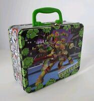 Collectibles/Teenage Mutant Ninja Turtles /3D/ Metal Nickelodeon lunch box