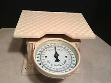 Circa 1900 Cast Iron Bathroom Scale Alexandra Works Good! Folding Dial Unique
