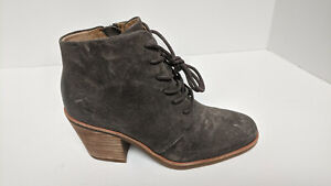 Sofft Corlea Ankle Boots, Taupe Suede, Women's 6.5 M