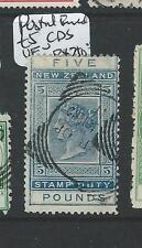 NEW ZEALAND  (P0608B) POSTAL FISCAL QV L5  VFU