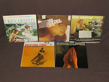 KEN GRIFFIN 10 LP RECORD ALBUMS LOT COLLECTION Cruising/Skating Time/Hymns/Hits