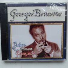 J adore la chanson francaise GEORGES BRASSENS  DGR80078 CD ALBUM