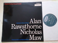 Rawsthorne, Alan / Nicholas Maw Music Group Of London 1968 Decca Argo Zrg 536
