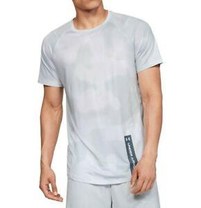 NWT UNDER ARMOUR MK-1 HeatGear Printed Short Sleeve Active T-Shirt Tee Sz L