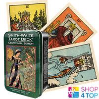SMITH WAITE CENTENNIAL DECK CARDS TIN BOX ESOTERIC TELLING PAMELA COLMAN NEW