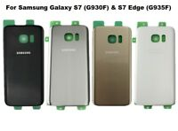 Back Rear Glass Replacement Battery Cover For Samsung Galaxy S7 / S7 Edge