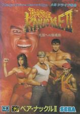 Bare Knuckle II/Streets of Rage 2 Sega Megadrive JAPAN