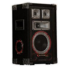 Technical Pro VMPR8 Passive Speaker 700 Watts PA DJ Karaoke Studio Band Home