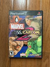 Marvel vs. Capcom 2 Game Complete Sony PlayStation 2 PS2