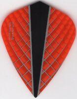 Orange Harrows Kite QUANTUM-X Dart Flights: 3 per set