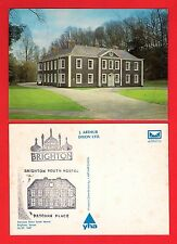 YHA Youth Hostel Postcard ~ Brighton Patcham Place - J Arthur Dixon: Closed 2007