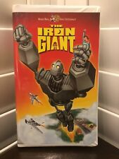 The Iron Giant~ Vhs 1999 Warner Bros