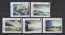 ISLE OF MAN MNH UMM STAMP SET 2002 WATERCOLOURS BY TONI ONLEY SG 989-993