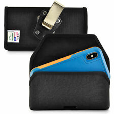 Belt Clip fits iPhone XS with OTTERBOX PURSUIT Black Nylon Holster Pouch Clip