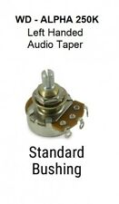 Left handed WD-ALPHA 250K audio pot NEW! FREE SHIPPING!