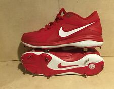 New Mens Nike Air MVP Pro Metal Baseball Cleats Red/White 524641-610 Size 16