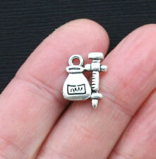4 Physician Assistant Charms Antique Silver Tone PA Medical Charm SC5612