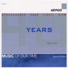 Wergo 40 Years 4 CD Box Cage Rihm Ligeti Stockhausen OOP